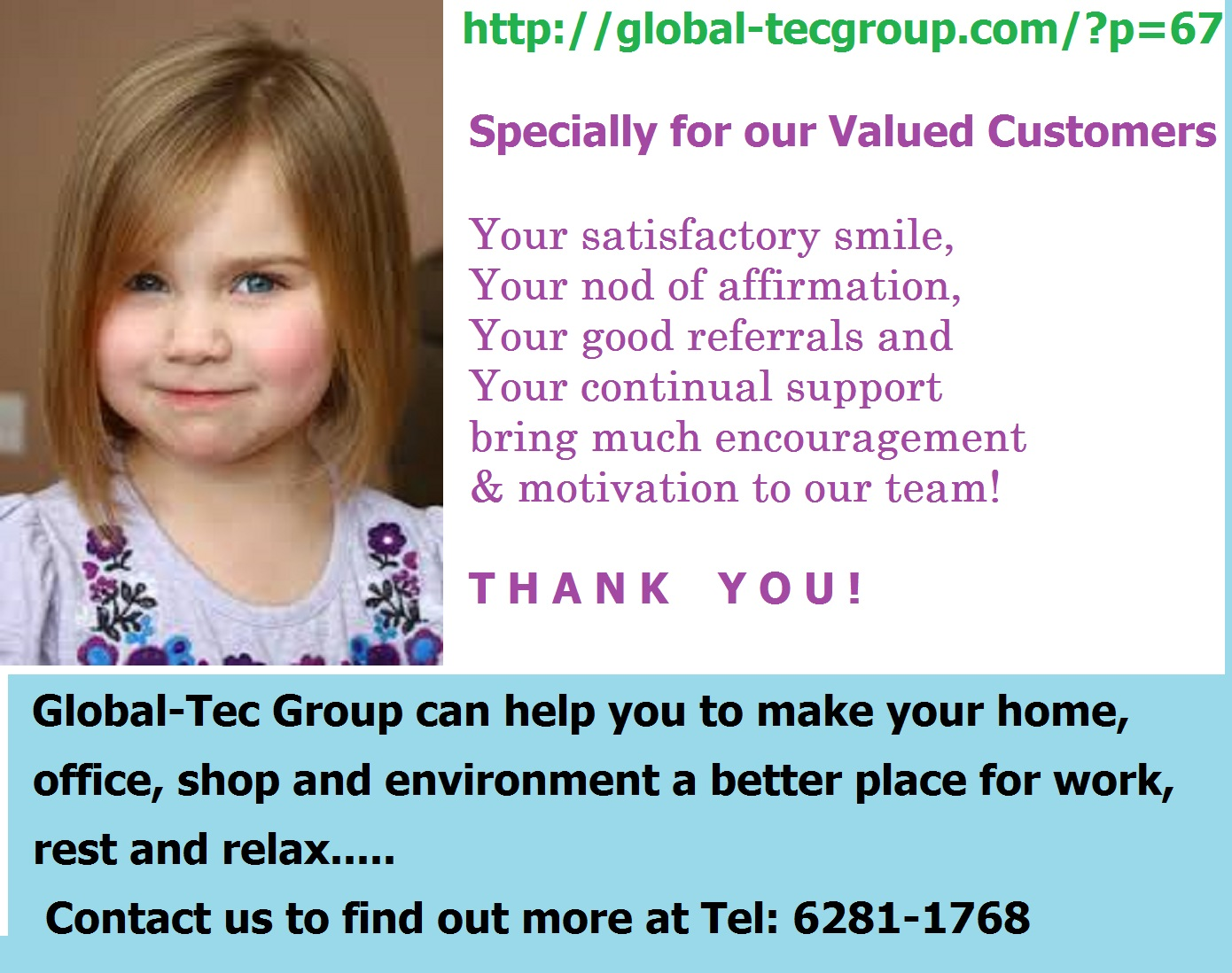 Thank You Our Valued Customers