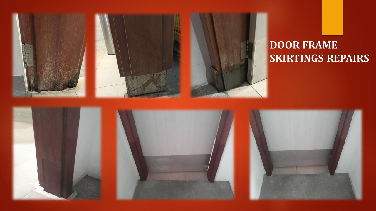 FB Tresalvoe Door Frame Skirtings Repair